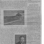 1910 Article about the Bourkes in Castlebar, page 1.