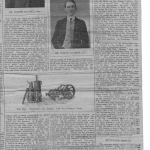 1910 Article about the Bourkes in Castlebar, page 2.