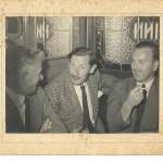 Micheál in the Three Tunn Inn, Dublin, with Sammy Suttle on the left and a friend.