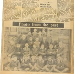 A mischievous young Micheál, top row, on the right.