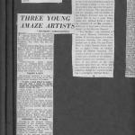 Young artists article featuring Micheál de Burca.