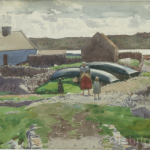 The Homestead, West of Ireland, Watercolour on Board, circa 1930.