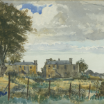 Colberts Field, Blackrock, Dublin, Watercolour on Board