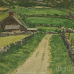 Achill?, Watercolour on Board, circa 1930